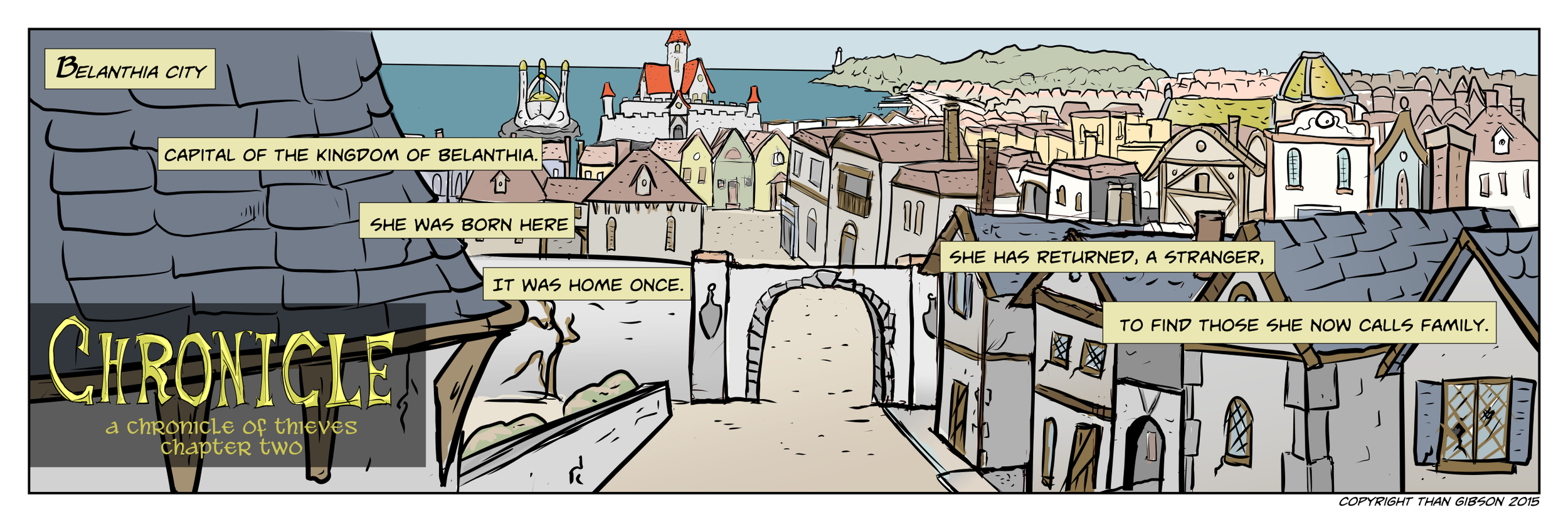 A Chronicle of Thieves -Chapter 2, Strip 03-Click the image for a larger view!