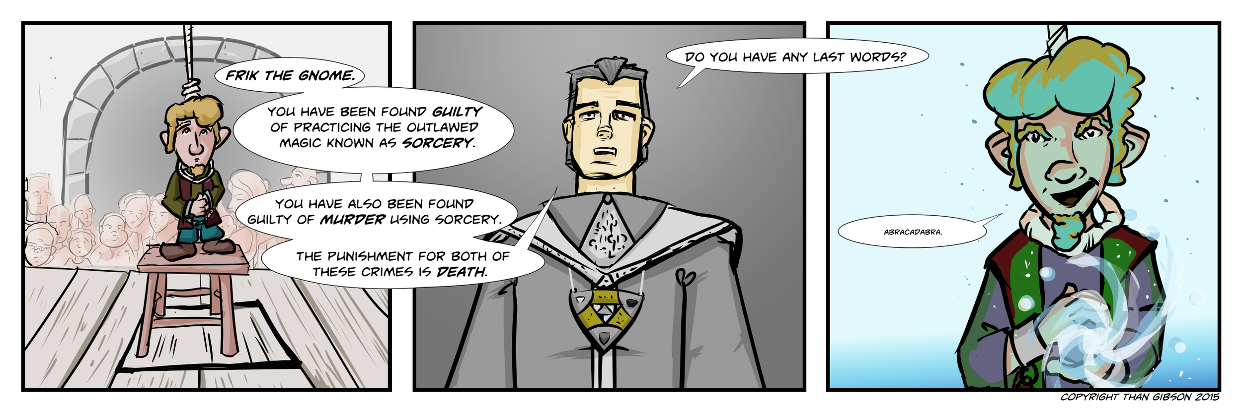 A Chronicle of Thieves -Chapter 2, Strip 11