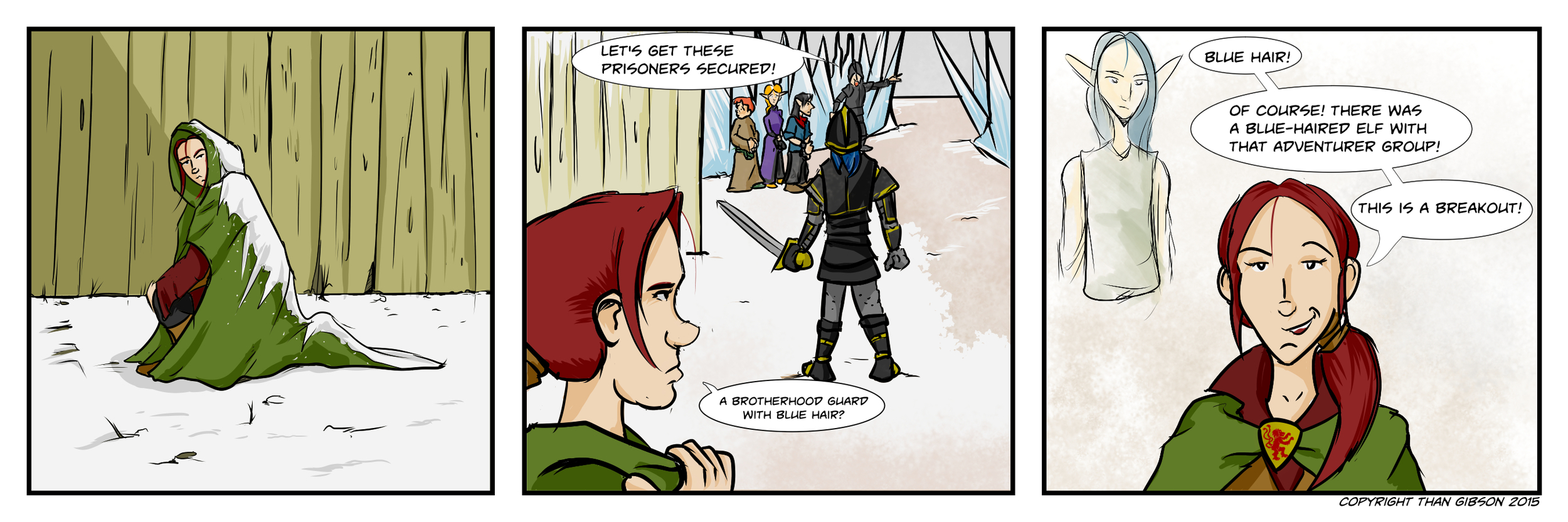 A Chronicle of Thieves -Chapter 2, Strip 16