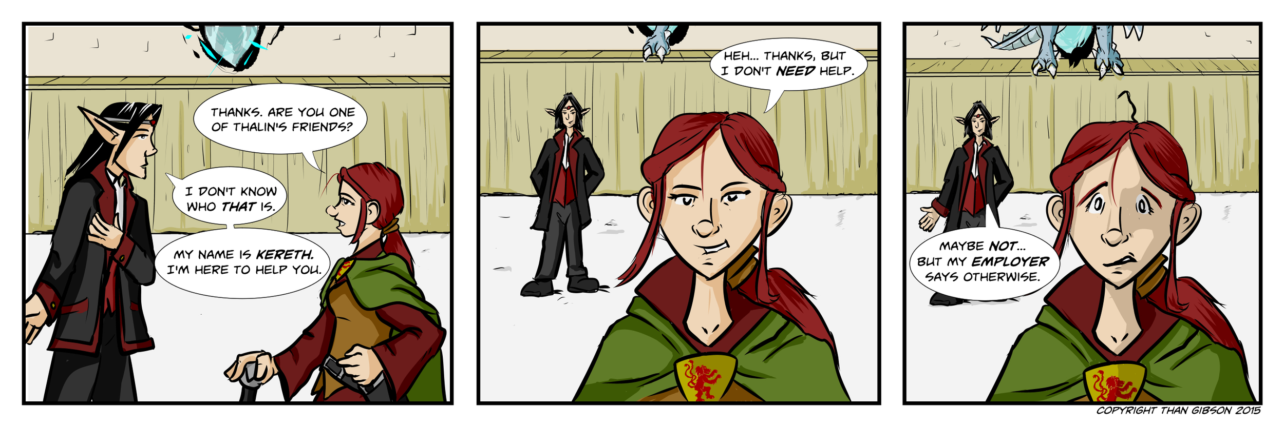 A Chronicle of Thieves -Chapter 2, Strip 21