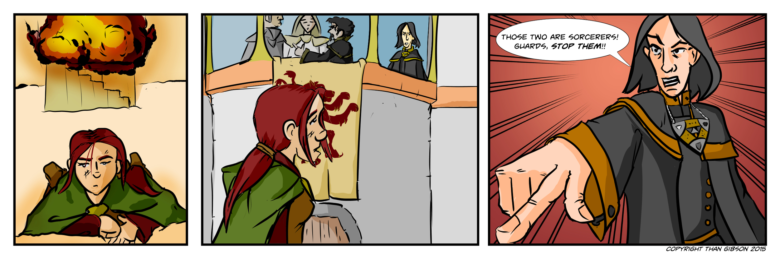 A Chronicle of Thieves - Chapter 2, Strip 25