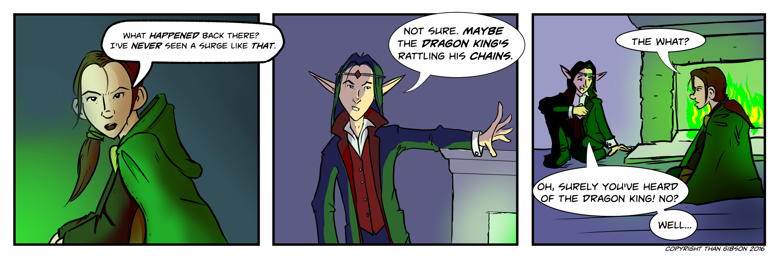 A Chronicle of Thieves -Chapter 2, Strip 26