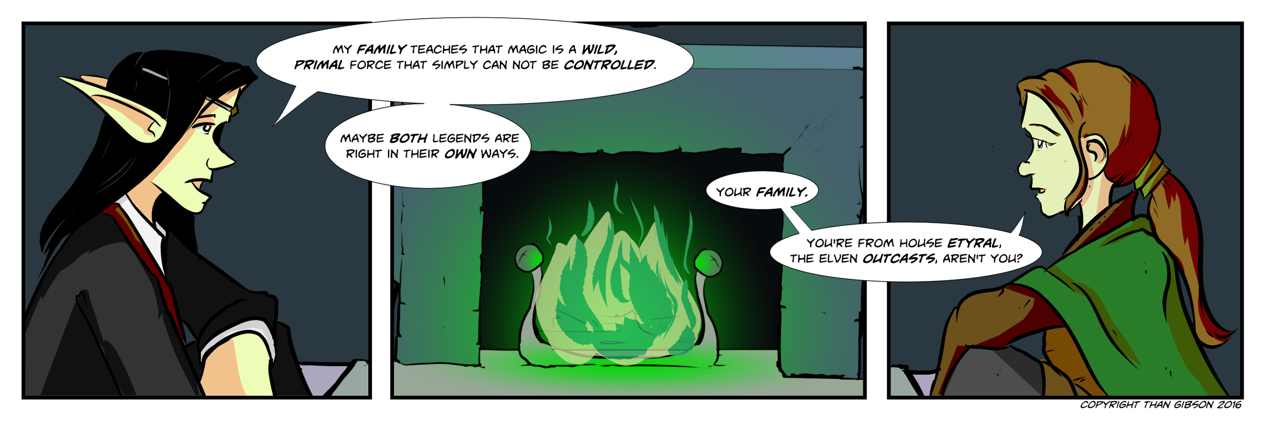 A Chronicle of Thieves - Chapter 2, Strip 26