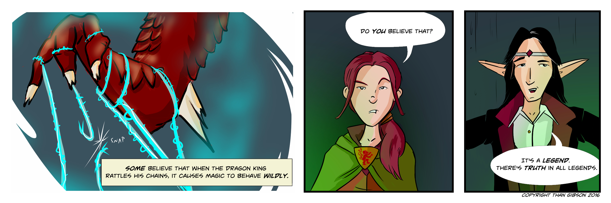 CHRONICLE: A CHRONICLE OF THIEVES - CHAPTER 3, STRIP 5