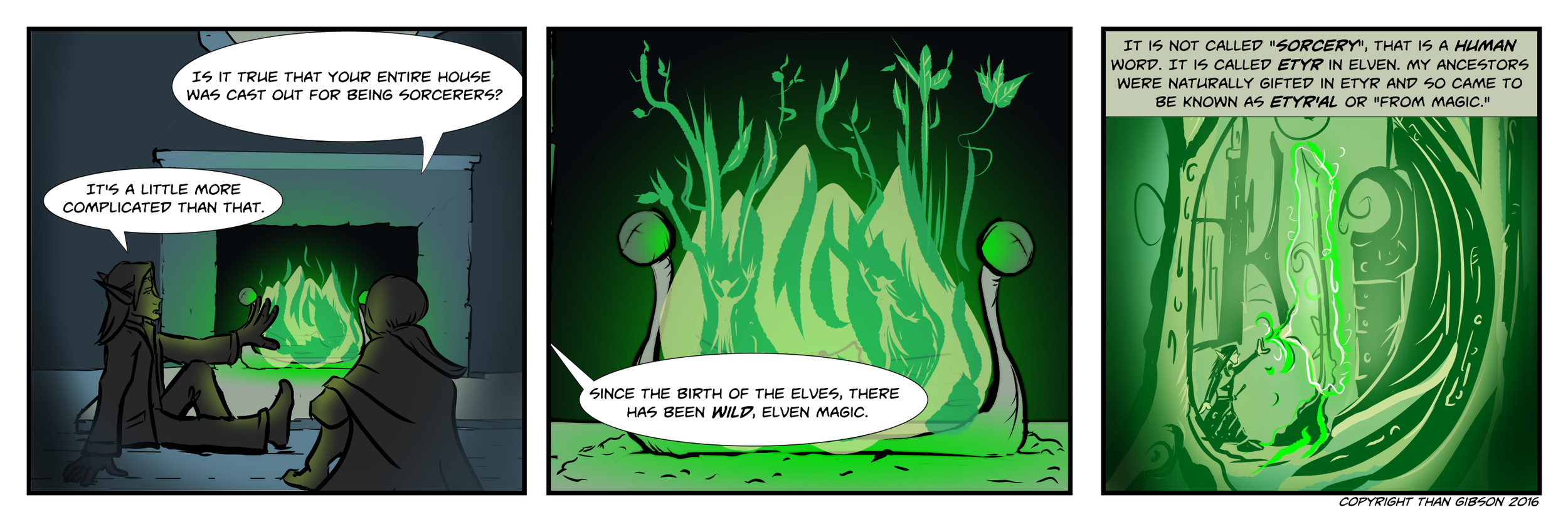 CHRONICLE: A CHRONICLE OF THIEVES - CHAPTER 3, STRIP 8