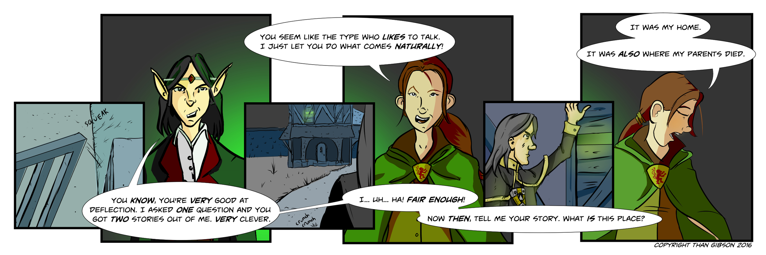 CHRONICLE: A CHRONICLE OF THIEVES - CHAPTER 3, STRIP 13