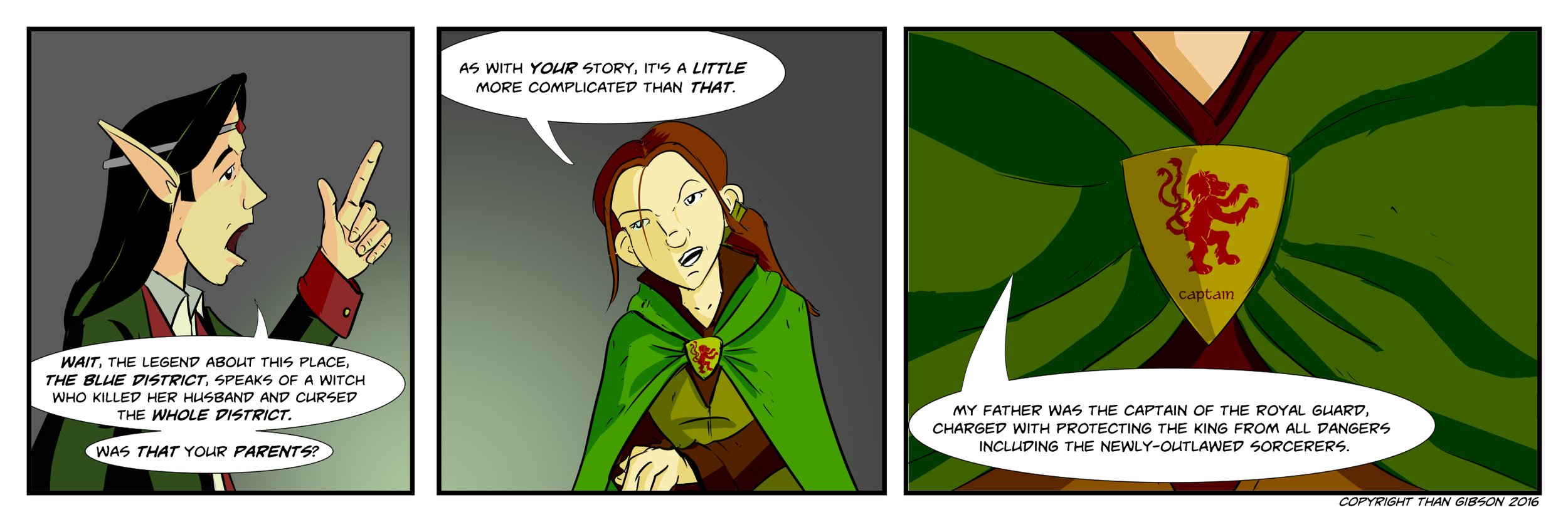 CHRONICLE: A CHRONICLE OF THIEVES - CHAPTER 3, STRIP 14