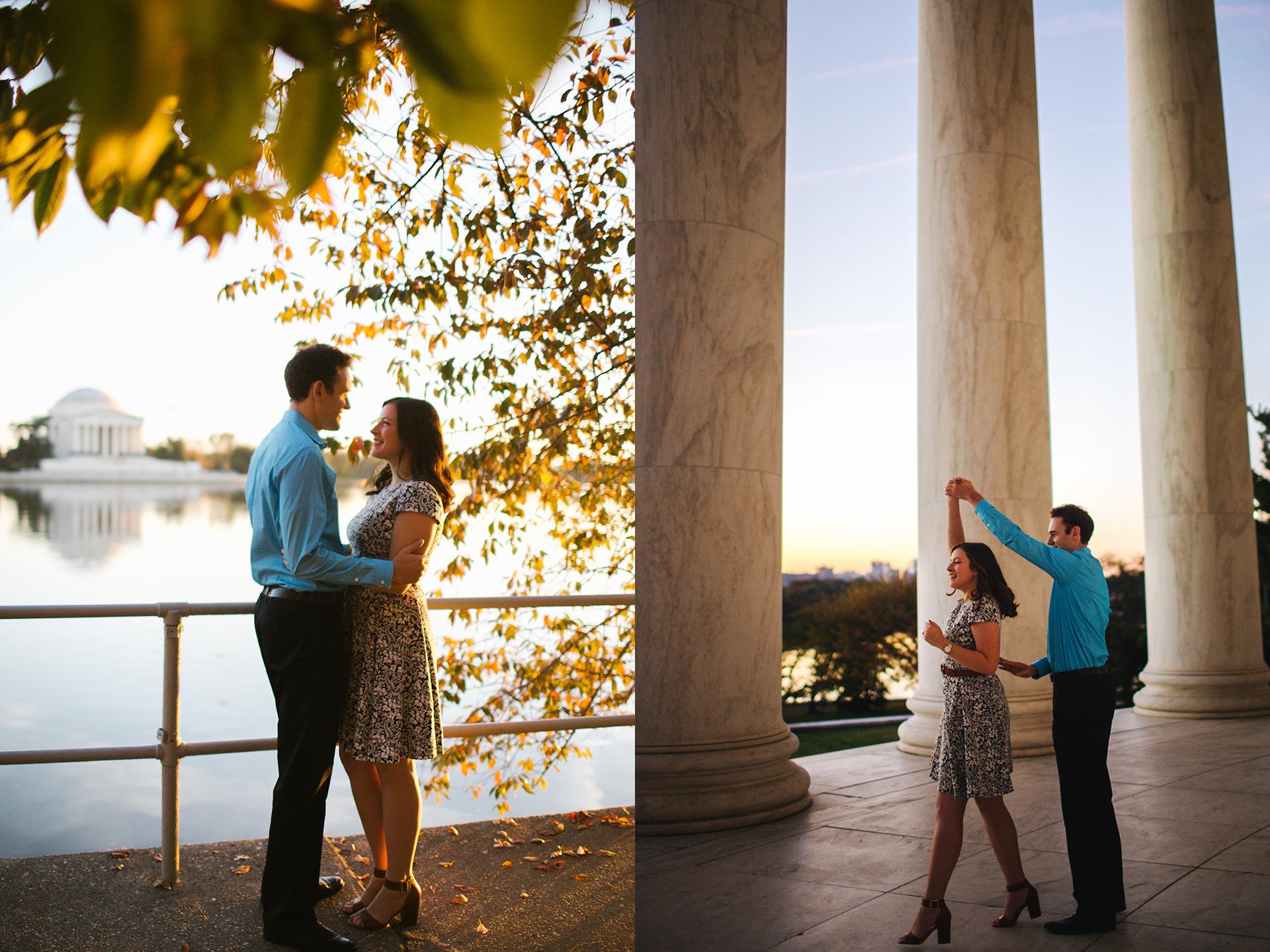 jefferson memorial fall couple engagement.jpg