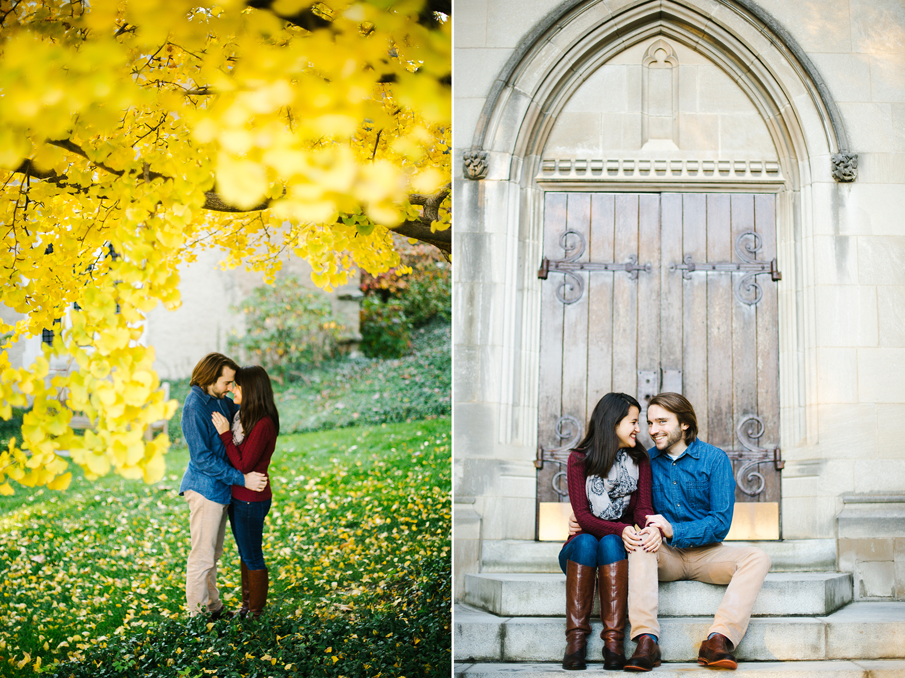washington dc fall engagement portraits national cathedral.jpg