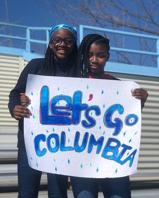 Last Saturday, HL girls from PS 149, PS 76, and PA2 attended the Columbia lacrosse game against Cornell to cheer on their Columbia teammates!! ————————————————————— The girls participated in on-field festivities before the game, cheering the Lions on as their starting lineup was announced, and even attended an autograph session afterwards. ————————————————————— The PS 149 girls were especially excited to meet Cornell midfielder Ellie Walsh, whose mom Mary comes to study hall every week! ————————————————————— Thank you to Coach Andrea Cofrin and Associate Athletic Director Mike Miller for hosting us! We can't wait to come back and cheer at more games this spring! • #flashbackfriday