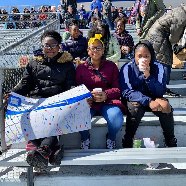 Led by Senior Program Director and Hofstra Alum, Brittain Altomare, our girls at P.S. 76 continued to cultivate the Harlem --  Hempstead connection by cheering on The Pride to victory over Sacred Heart! --------------------------------------------------------------------------------------------- Highlights of the day included a tour of the Lacrosse facilities, a Q&A with the team and locker room dance party. --------------------------------------------------------------------------------------------- Special thanks to Coach Shannon Smith and Assistant Coach Torin Varn for hosting us and putting together an incredible day!