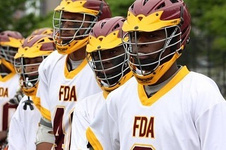 This past Sunday, the Frederick Douglass Academy boys Varsity Lacrosse Team played in the PSAL Championship for the third year in a row. FDA is where Harlem Lacrosse originated, and has grown immensely ever since. The boys are led by Harlem Lacrosse Senior Program Director Owen Van Arsdale and Head Coach June Ronchetti. *LINK IN BIO*