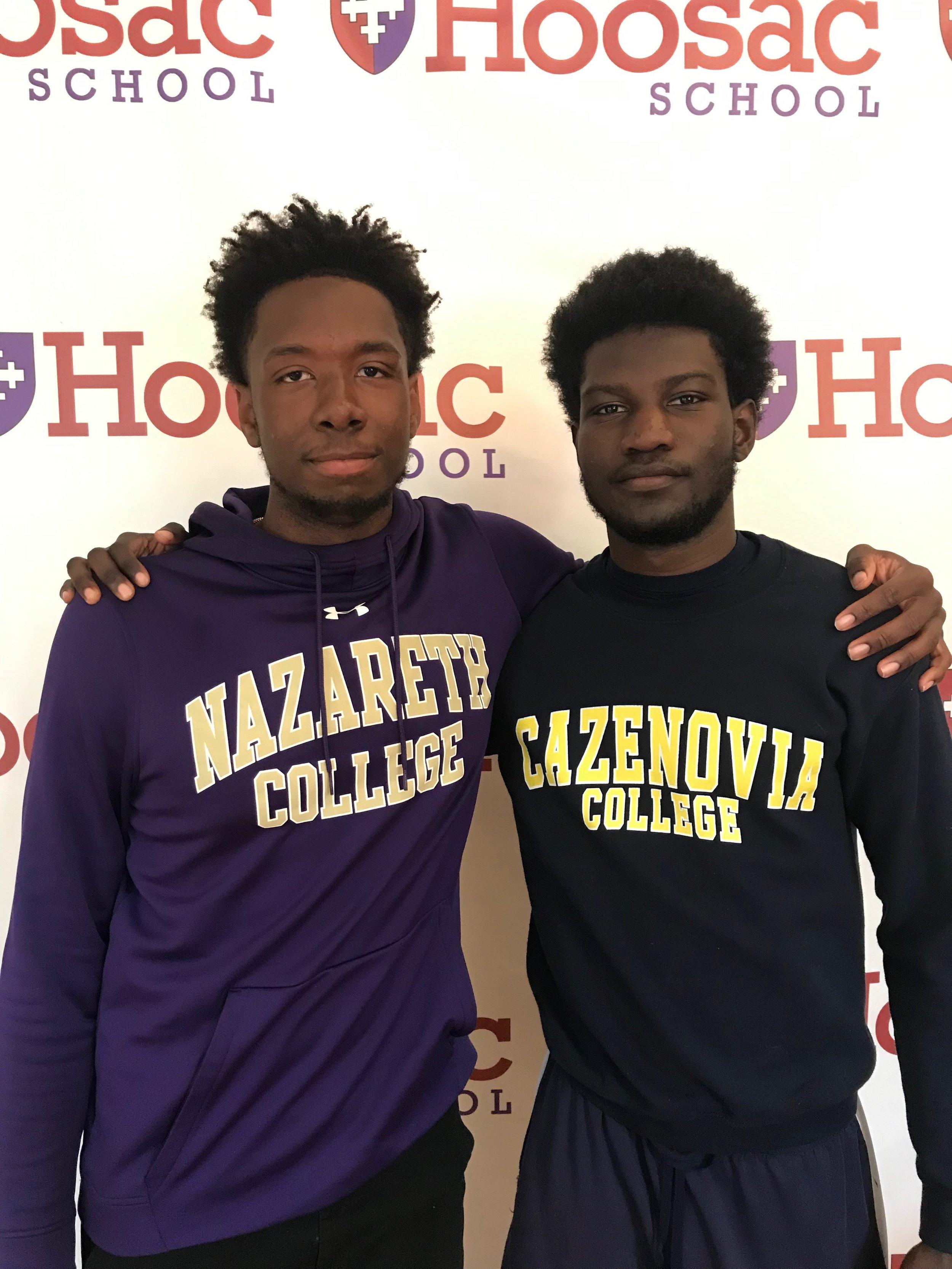 Clifford and Bernard College Shirts.jpeg