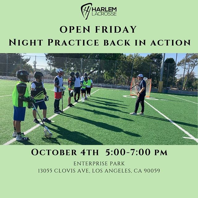 Open Friday night practice will resume October 4th 5:00-7:00 at Enterprise Park! See you there! #letsgo #aimhighshootlow #oneteammanyfields
