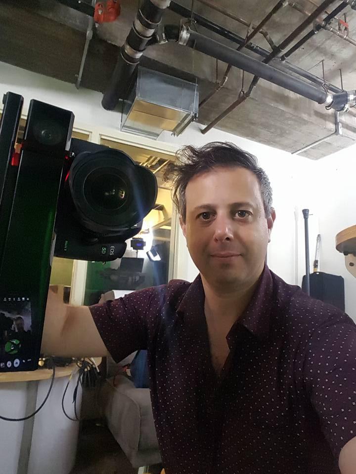 Me on the set of 'Patterns' shooting Depthkit
