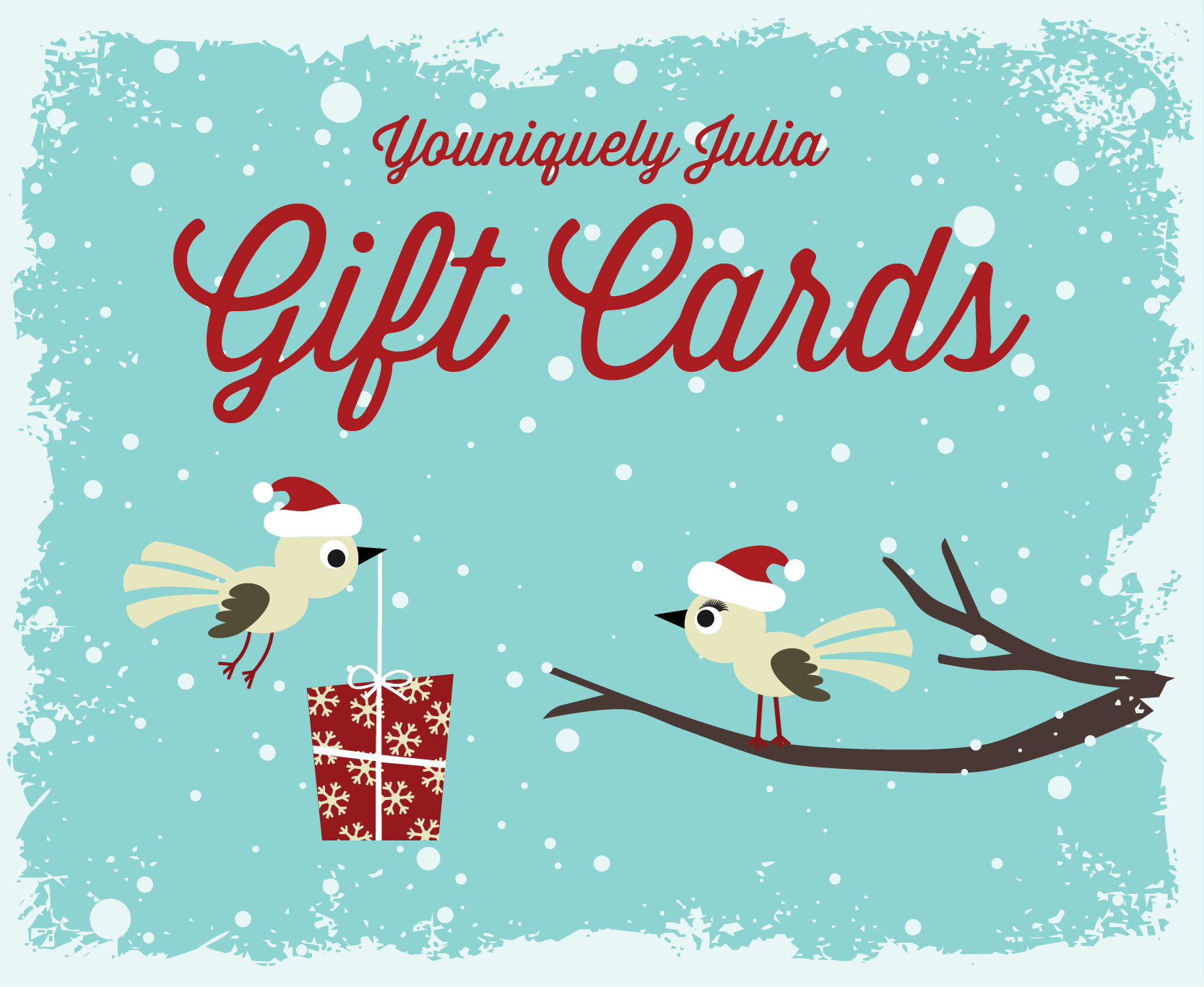 Now offering Gift Cards!