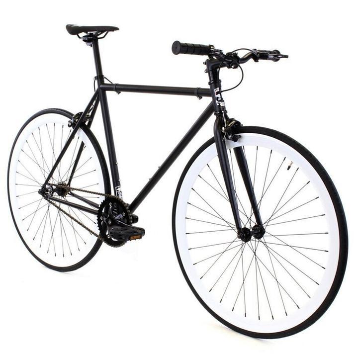 Steel Single Speed, Black/White $299