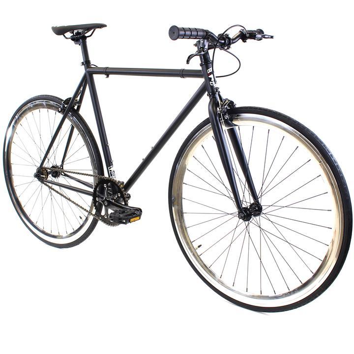 Steel Single Speed, Black/Chrome $299