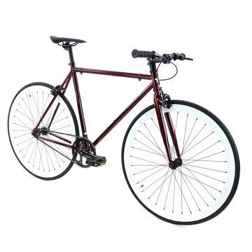 Steel Single Speed, Burgundy/White $299