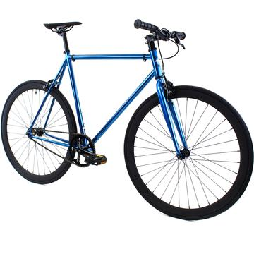 Steel Single Speed, Blue/Black $299