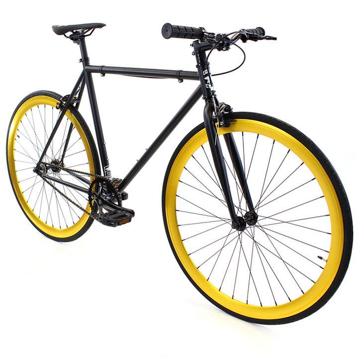 Steel Single Speed, Black/Gold $299