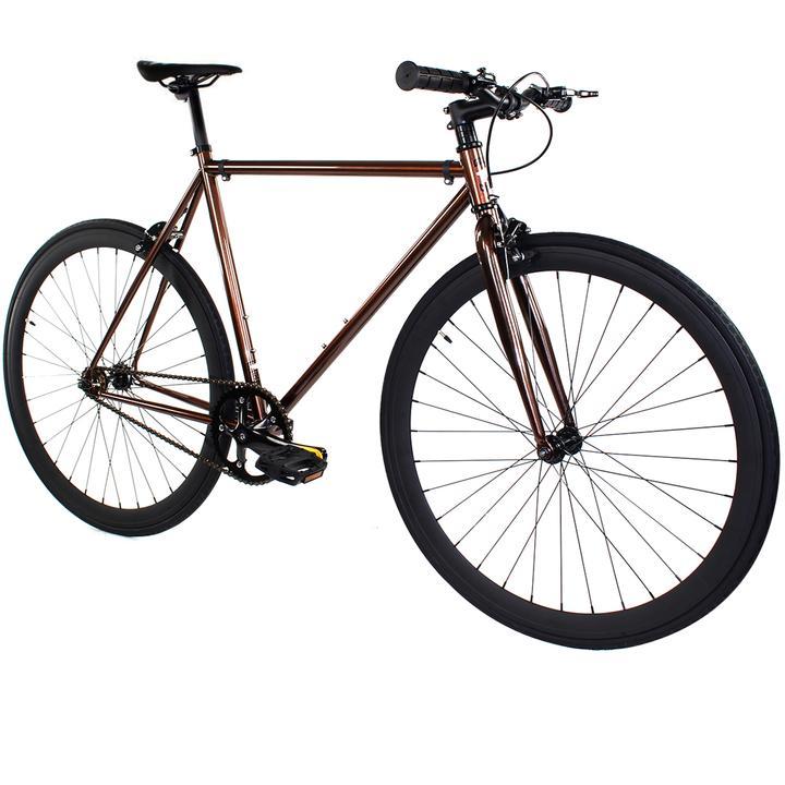 Steel Single Speed, Copper/Black $299