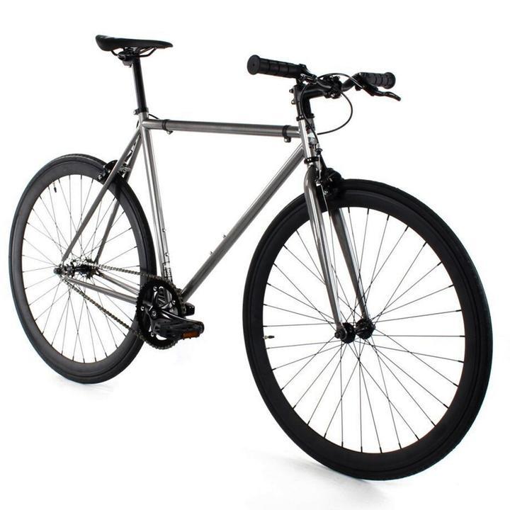 Steel Single Speed, Grey/Black $299