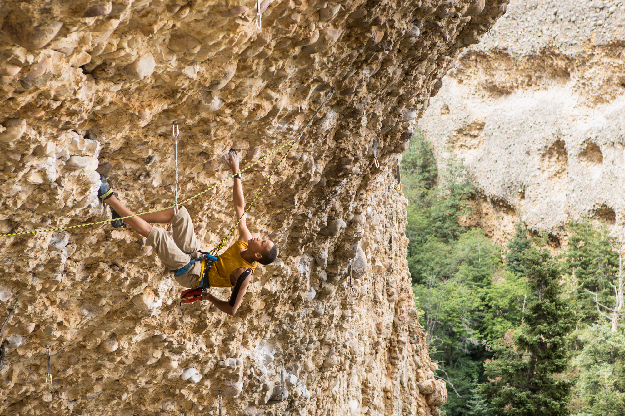 Photographer: Jonathan Vickers- Momentum Climbing Gym (Pipe Dream Cave)