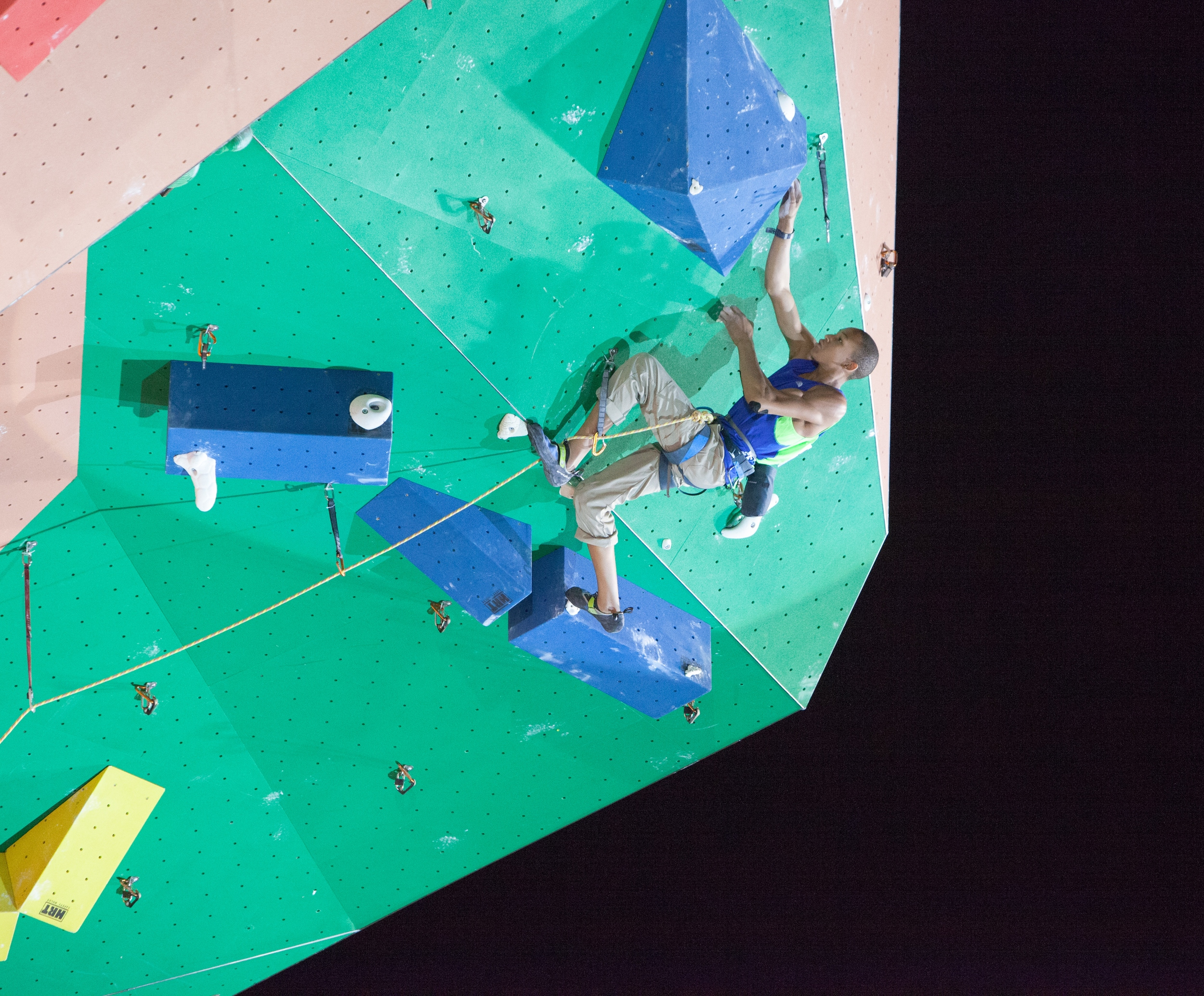 Finals Route  (Photo by Bruce Mitchell, climbingpix.com)