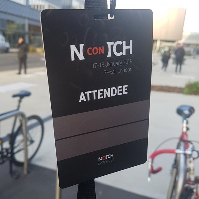 We're at NotchCon in London, Upping our Notch game, one node at a time!