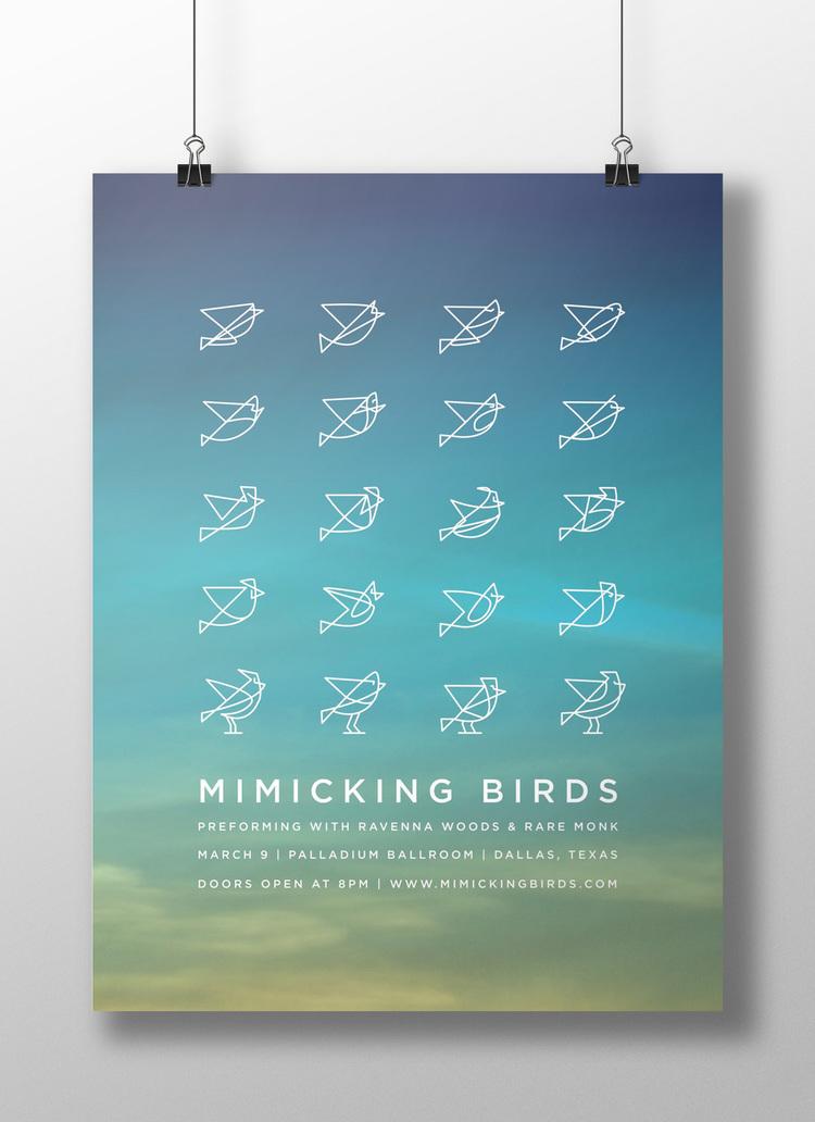 Mimicking Birds Poster