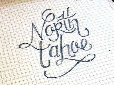 North Tahoe Typography