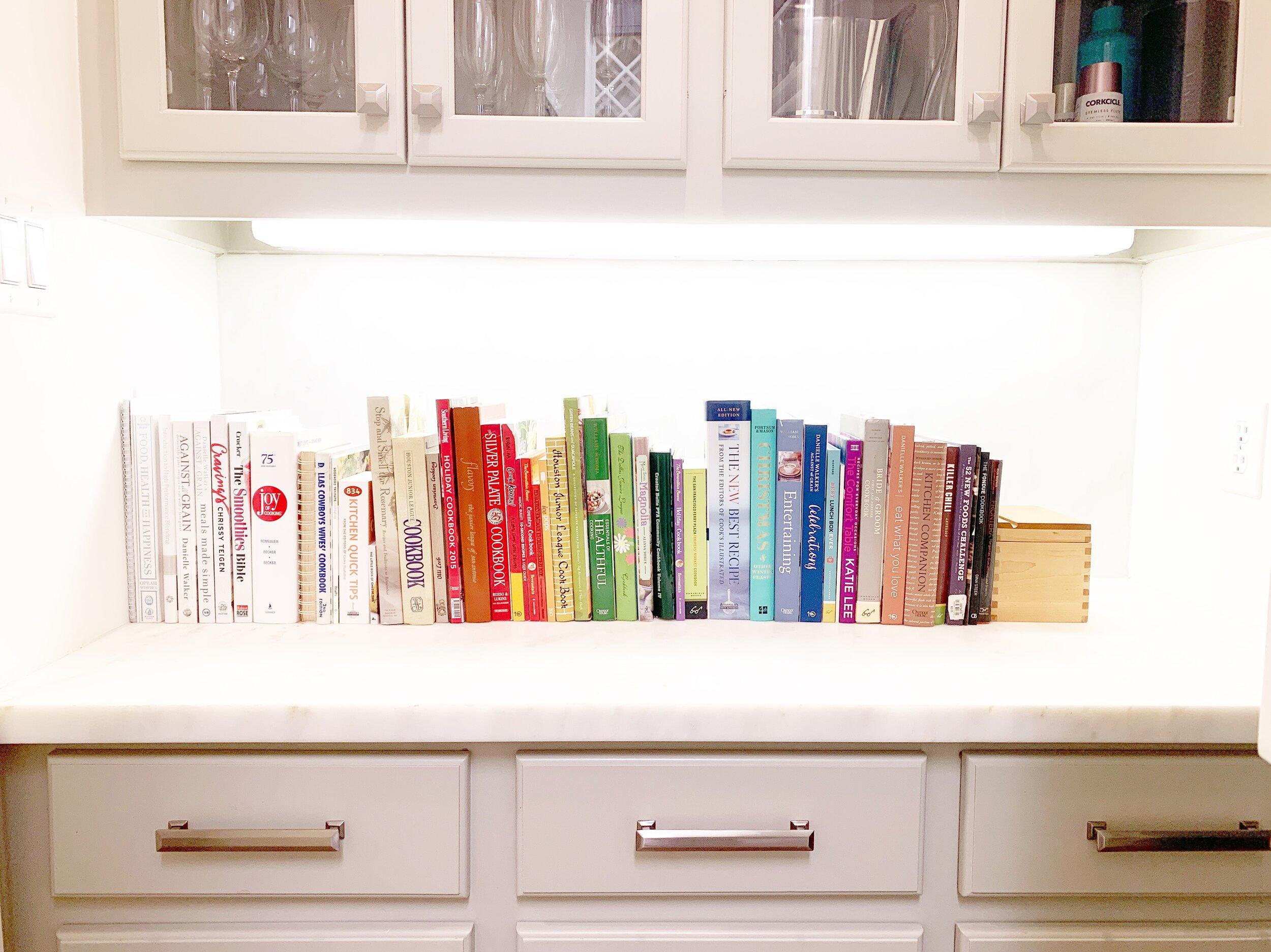 houston professional organizer cookbook organization.JPG