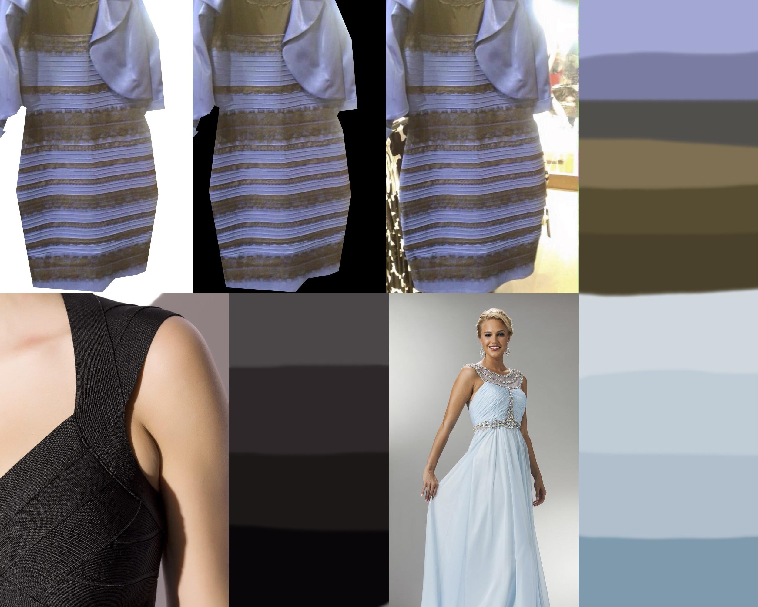 blue black white gold dress solved