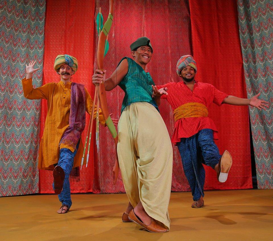 """""""A Bollywood Robin Hood!""""   Photo courtesy of Brad Goda."""