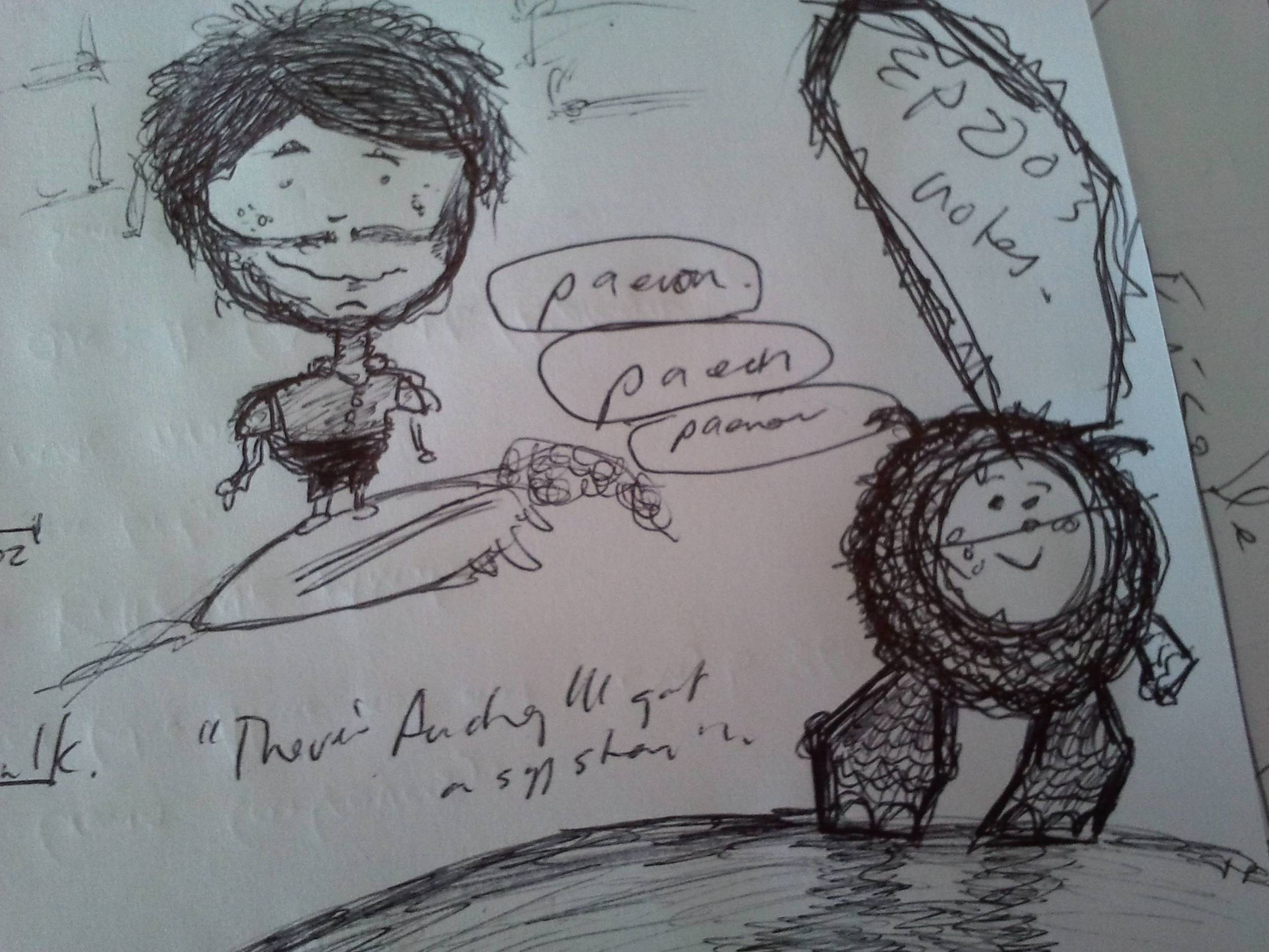 Still doodling.