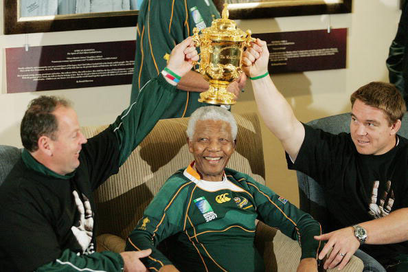 Nintendo Fan, Nelson Mandela, in happier times.