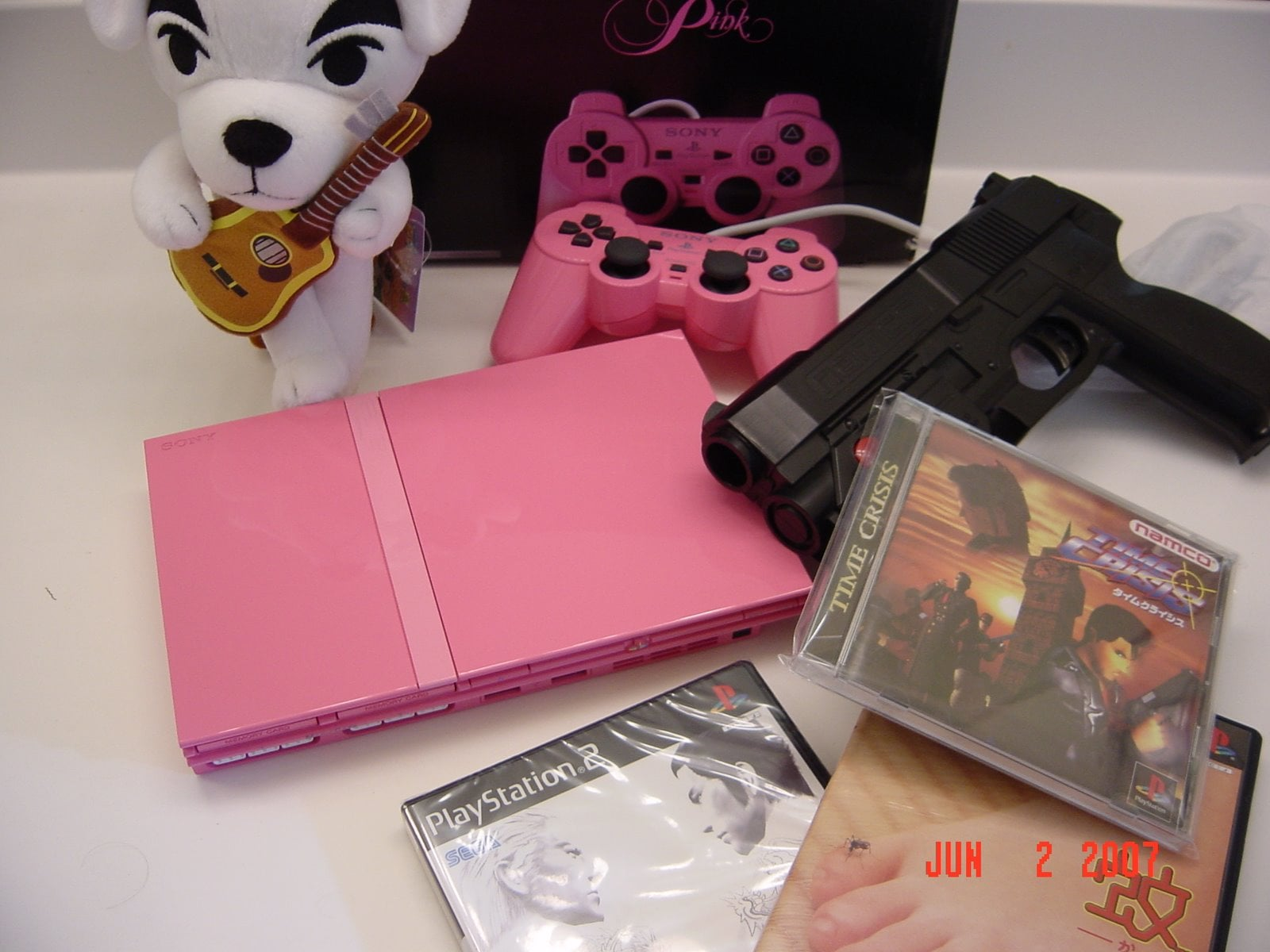 This is my Yakuza 2 Bundle (Bought all this stuff on the same day back before Yakuza 2 was available in the West.