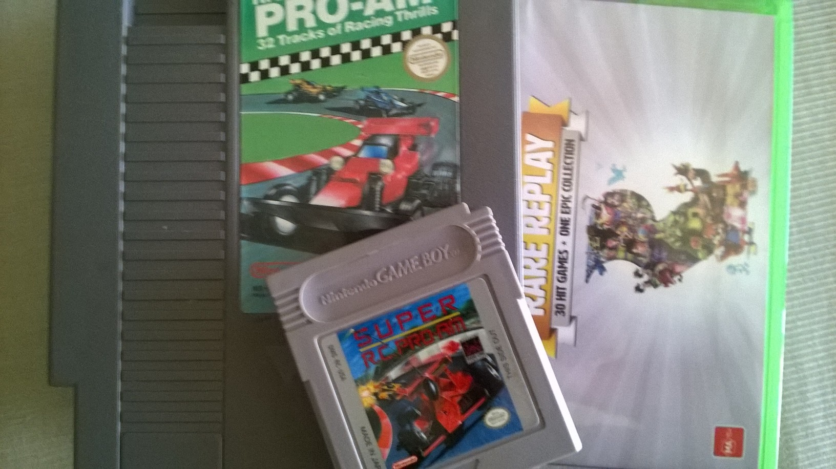 For whatever reason I always thought R.C. PRO-AM was a NAMCO game.