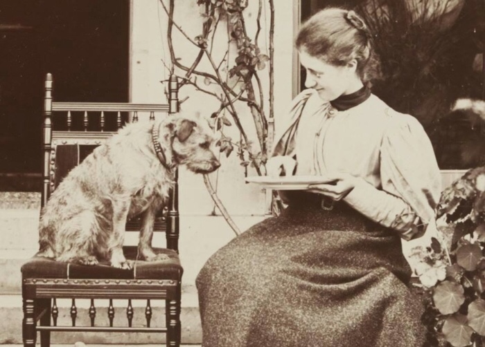She was also an accomplished animal trainer—though no Karen Pryor.