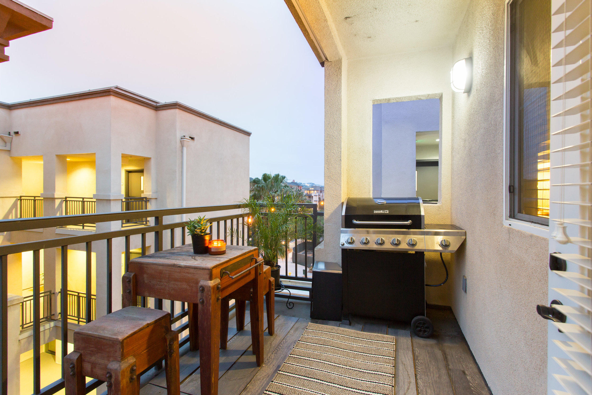 Playa Vista Simple Balcony