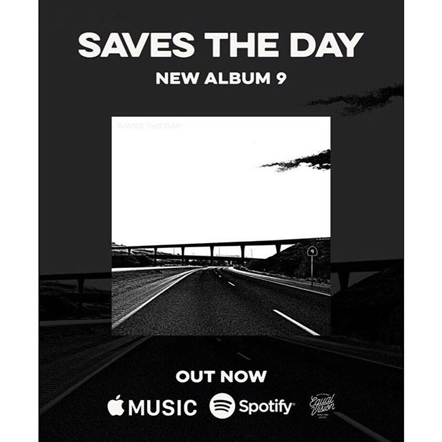 We're delighted to break our silence about this project. @savestheday set up camp with us for more than a month last fall with @tatemercer and @detroitarun at the helm. Happy release day, boys! • #Repost @tatemercer ・・・ The new @savestheday album is out t