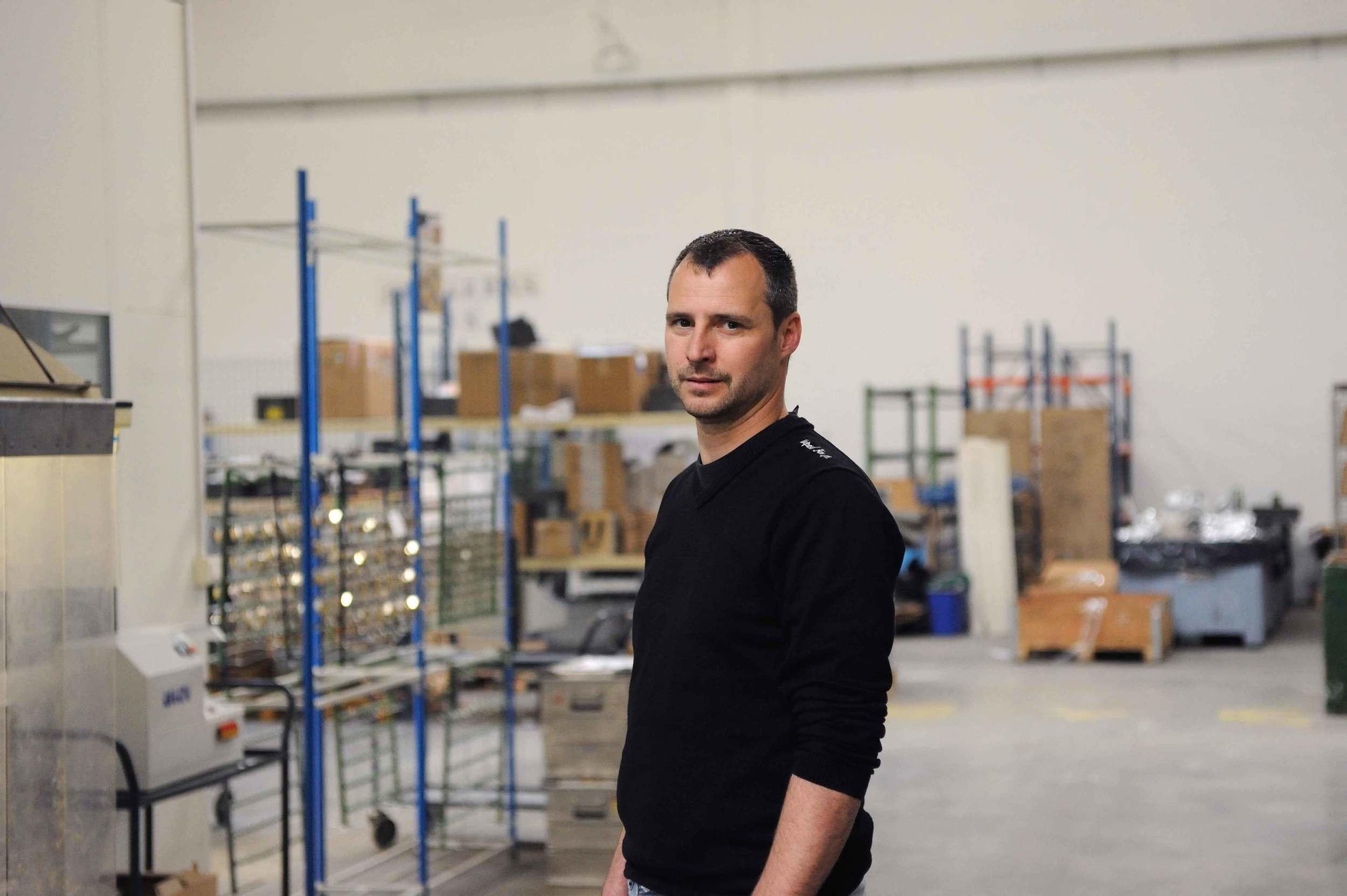 Stéphane NOUAILLE - Chef d'atelier