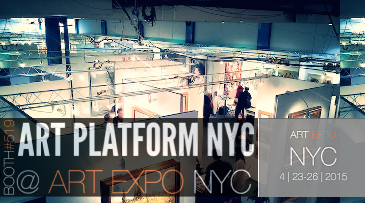 Peter Rive - Art Expo NYC 2015