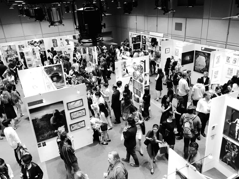 Peter Rive - Tokyo International Art Fair 2015