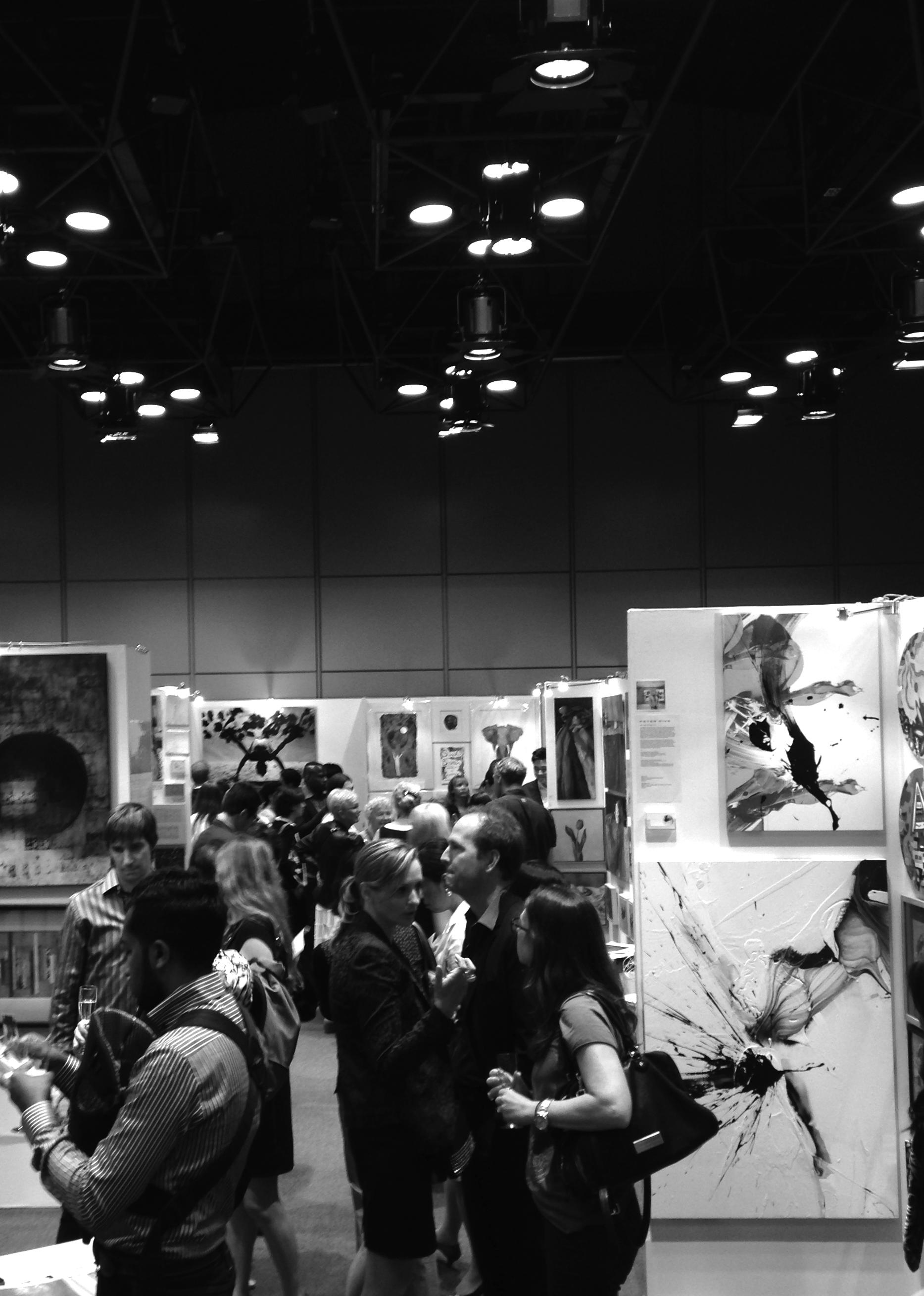 Peter Rive - Tokyo International Art Fair 2015_3