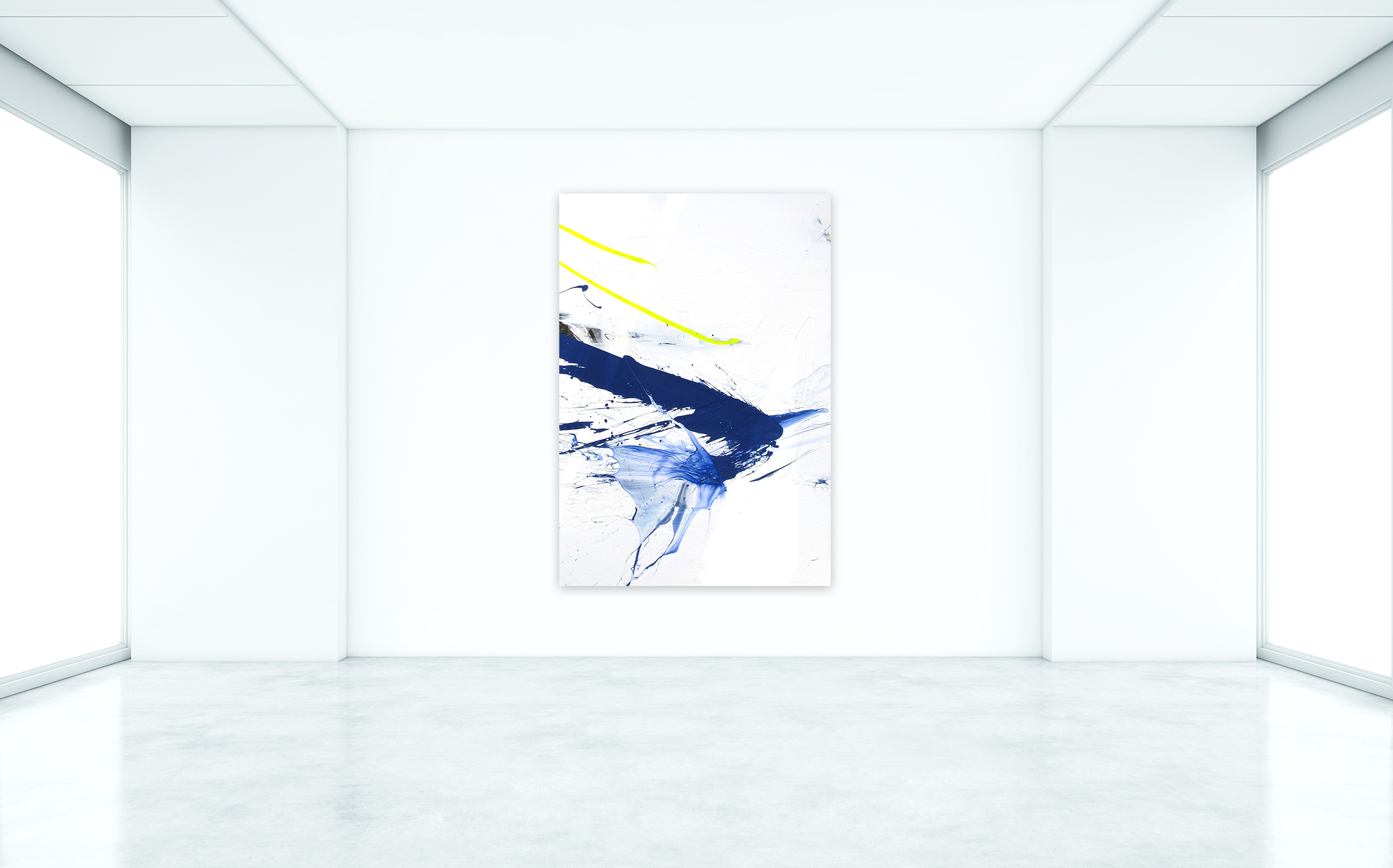 Peter Rive - She Speeds, 2013. Installation View