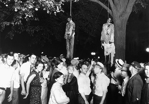 The lynching of Thomas Shipp and Abram Smith