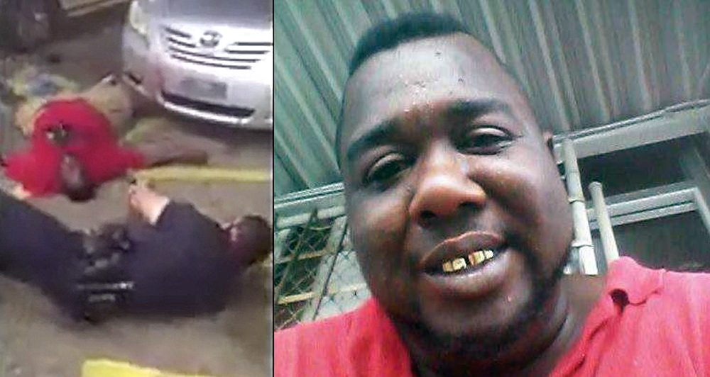 The late Alton Sterling.