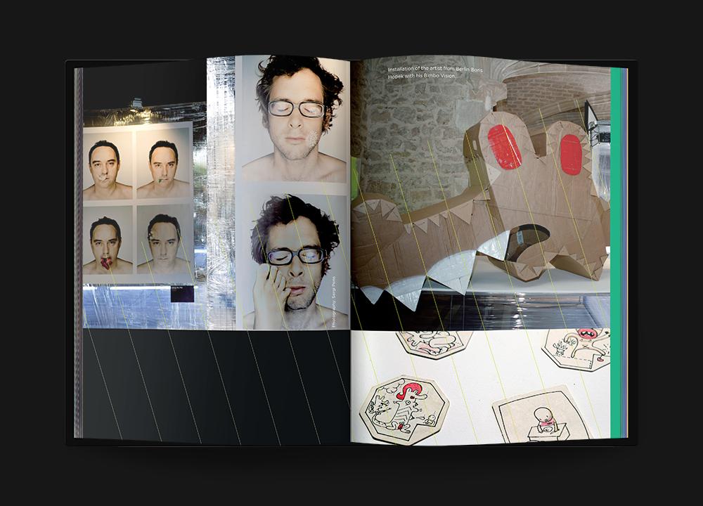 Concept developed by Ferran Adrià and an installation by Boris Hopek